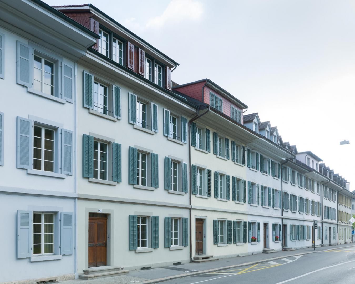 altstadthaus aarau architekturb ro herbert bruhin. Black Bedroom Furniture Sets. Home Design Ideas